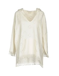 Maison Scotch Sweatshirts Ivory