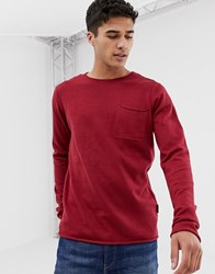 D Struct Lightweight Jumper Red
