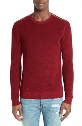 The Kooples Men's Zip Pullover Red
