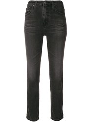 Ag Jeans Isabelle High Waist Black