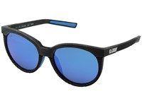 Costa Victoria Net Gray Blue Rubber Blue Mirror 580G Athletic Performance Sport Sunglasses