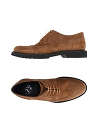 Ylati Lace Up Shoes Brown