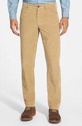 Men's Nordstrom Straight Leg Corduroy Pants Tan Kelp