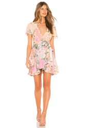 Spell And The Gypsy Collective Lily Mini Dress Pink