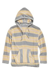 Men's Outerknown 'Lost Horizon' Poncho Stripe Sweater Hoodie
