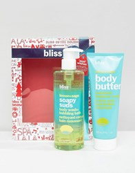 Bliss 'Zest' Wishes Set Lemon And Sage Clear