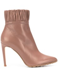 Chloe Gosselin Maud Pleated Trimming Boots 60