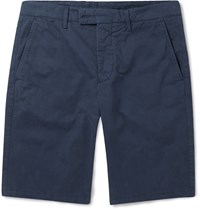 Aspesi Cotton Shorts Blue