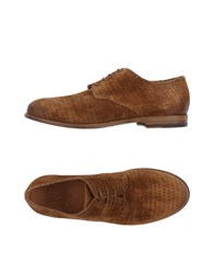Pantanetti Lace Up Shoes Brown