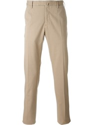 Incotex Tailored Trousers Nude And Neutrals