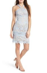 Soprano Women's Lace Body Con Dress