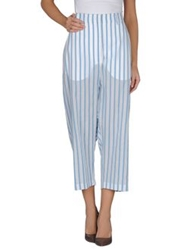 The Row Casual Pants Pastel Blue