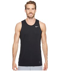 Nike Pro Tank Black Dark Grey White Men's Sleeveless