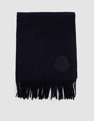 Moncler Scarf In Navy
