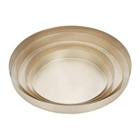 Tom Dixon Orbit Trays Silver Large