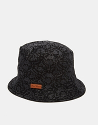 Icon Brand Reversible Bucket Hat Black
