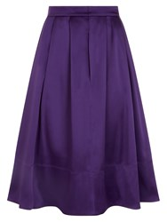 Hotsquash Silky Skirt With Clevertech Purple