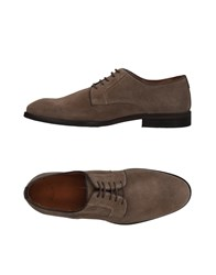 Selected Homme Lace Up Shoes Light Brown