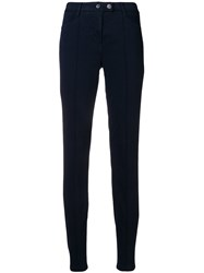 Luisa Cerano Skinny Fit Jeans Blue