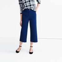 Madewell Langford Wide Leg Crop Pants Retro Indigo