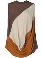 Rick Owens Draped Top Multicolour