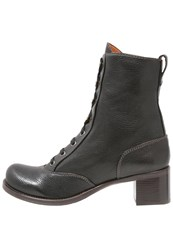 Chie Mihara Frere Laceup Boots Black