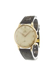Omega 'Vintage' Analog Watch Gold