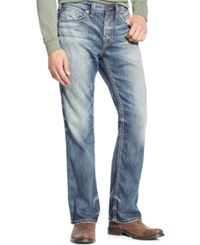 Silver Jeans Craig Easy Fit Bootcut Jeans Indigo