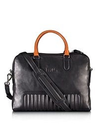 Ralph Lauren Black Label Quilted Calfskin Briefcase