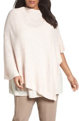 Eileen Fisher Plus Size Women's Organic Linen And Cotton Poncho