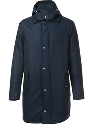Aztech Mountain 'Shadow Mountain' Parka Coat Blue