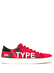 Moa Master Of Arts Type Sneakers Red