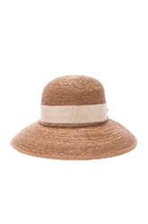 Helen Kaminski Newport Short Brim Hat In Neutrals