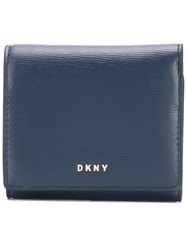 Dkny Bryant Trifold Wallet Blue