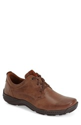 Men's Josef Seibel 'Nolan' Plain Toe Derby Brown Leather