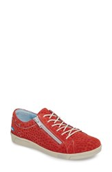Cloud 'S Aika Star Perforated Sneaker Blue Leather