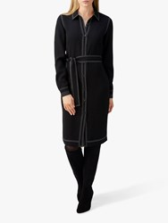Pure Collection Shirt Dress Black