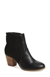 Sole Society 'Chris' Bootie Women Black Faux Leather
