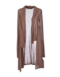 Ajay Cardigans Light Brown