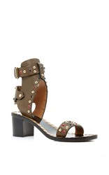 Isabel Marant Jaeryn Studded Sandals Bronze