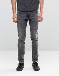 Weekday Friday Skinny Jeans Generic Grey Acid Generic Light Grey