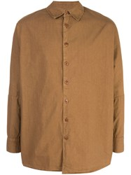 Casey Casey Weathered Shirt Brown