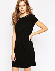 Liquorish Envelope Dress Black