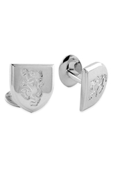 David Donahue 'Griffin' Sterling Silver Cuff Links Silver Griffin