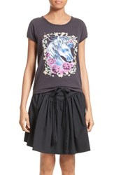 Marc Jacobs Women's Unicorn Print Tee