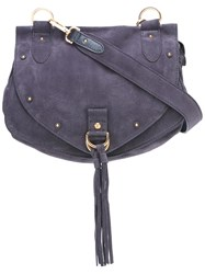See By Chloe Medium 'Collins' Messenger Shoulder Bag Pink Purple