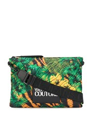 Versace Jeans Couture Quilted Jungle Print Clutch Bag 60