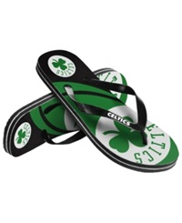 Forever Collectibles Boston Celtics Thong Sandals Green