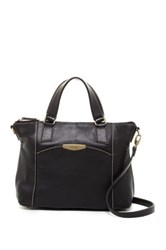 Tignanello Craft And Casual Leather Satchel Black