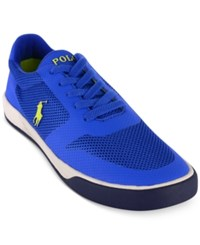 Polo Ralph Lauren Men's Hellidon Sport Mesh Sneakers Men's Shoes Sapphire Star